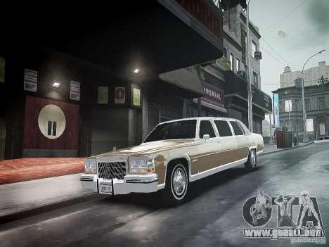 Cadillac Fleetwood 1985 para GTA 4