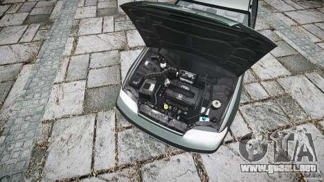 Honda CRX 1991 para GTA 4 vista hacia atrás