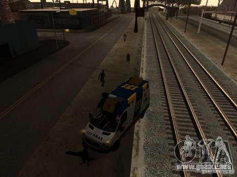 Mercedes-Benz Sprinter Ambulancia para GTA San Andreas left