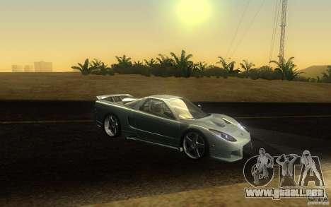 Honda NSX VeilSide Fortune para la vista superior GTA San Andreas