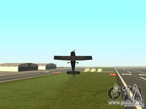 Un nuevo avión-Dodo para GTA San Andreas interior
