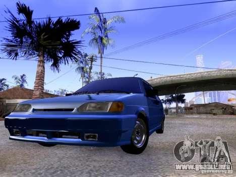 Stock 2113 VAZ para la visión correcta GTA San Andreas