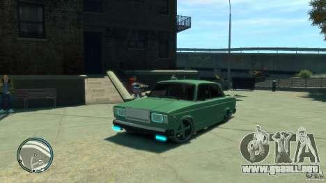 VAZ 2107 LENSO para GTA 4