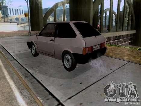 Drenaje VAZ 2108 para GTA San Andreas left