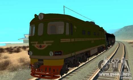 Custom Graffiti Train 1 para GTA San Andreas left