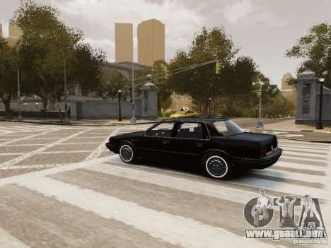 Oldsmobile Cutlass Ciera 1993 para GTA 4 interior