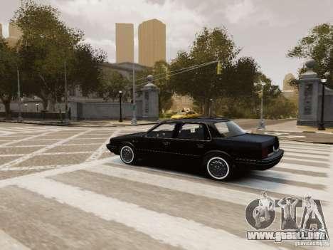 Oldsmobile Cutlass Ciera 1993 para GTA 4 interior