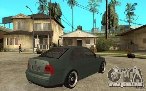 VW Bora para la visión correcta GTA San Andreas