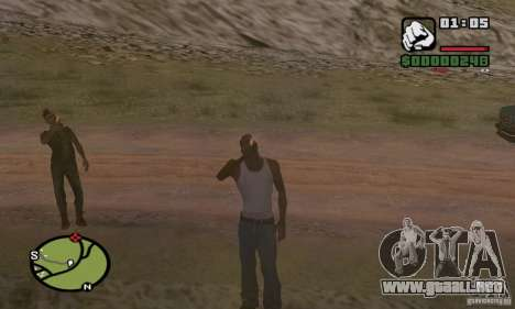 Relajación en el valle para GTA San Andreas tercera pantalla