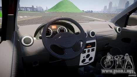Dacia Logan Pick-up ELIA tuned para GTA 4 vista hacia atrás