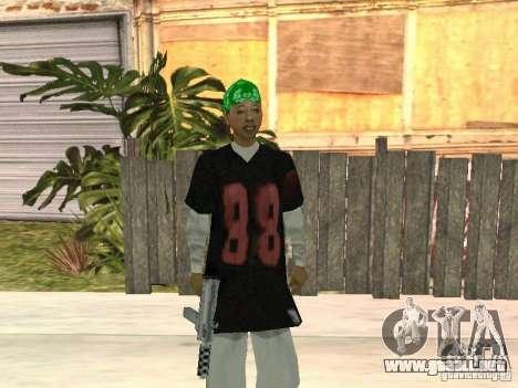 Nuevos aspectos de la pandilla de la calle Grove para GTA San Andreas