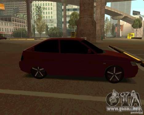 LADA 2112 Coupe v. 2 para GTA San Andreas left