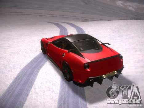 Ferrari 599XX para la visión correcta GTA San Andreas