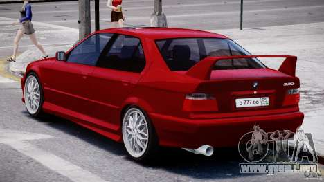 BMW 318i Light Tuning v1.1 para GTA 4 visión correcta