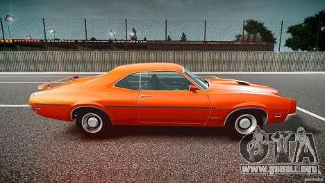 Mercury Cyclone Spoiler 1970 para GTA 4 left