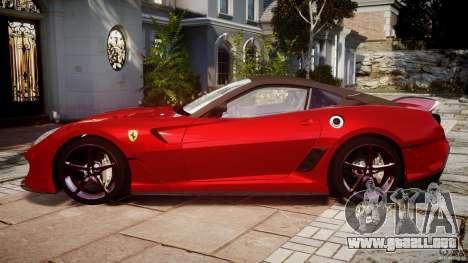 Ferrari 599 XX para GTA 4 left