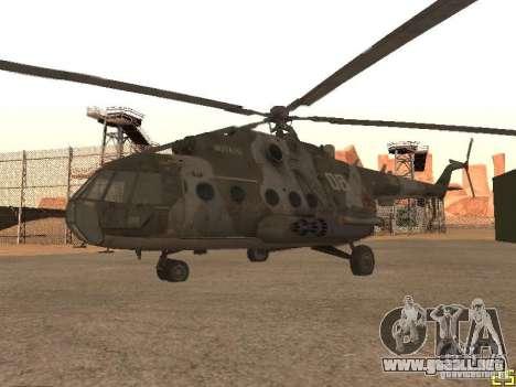 MI 17 para la visión correcta GTA San Andreas