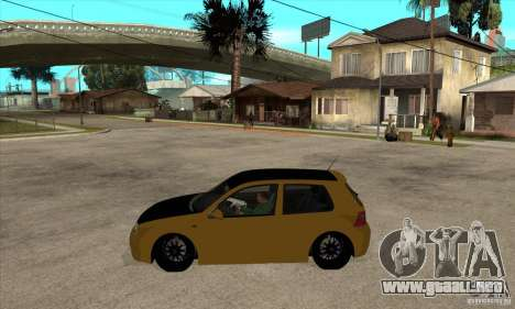 VW Golf 4 R32 para GTA San Andreas left