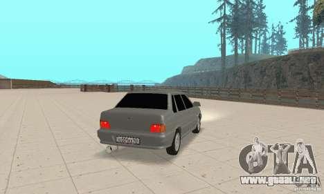 VAZ 2115 TUN para GTA San Andreas left