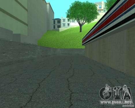 Nuevo letrero. nueva gasolinera. para GTA San Andreas sucesivamente de pantalla