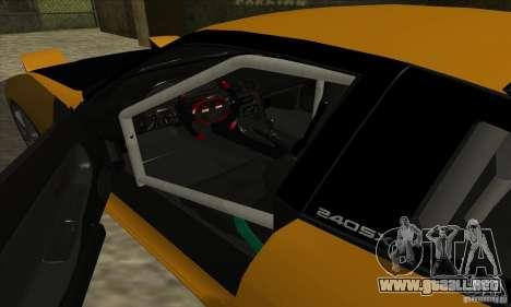 Nissan 240SX Drift Tuning para la visión correcta GTA San Andreas