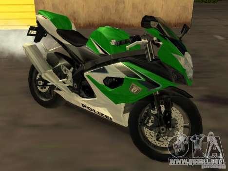 Suzuki 1000 Police para GTA San Andreas