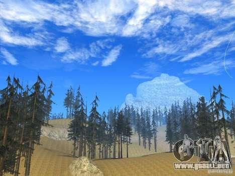 BM Timecyc v1.1 Real Sky para GTA San Andreas quinta pantalla
