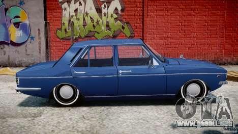 Peykan 1348 1970 para GTA 4 Vista posterior izquierda