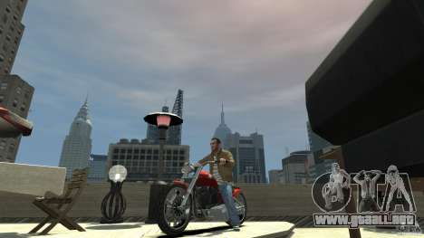 The Lost and Damned Bikes Lycan para GTA 4 left
