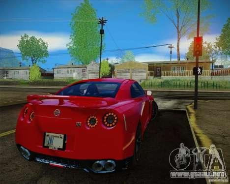 New Playable ENB Series para GTA San Andreas segunda pantalla
