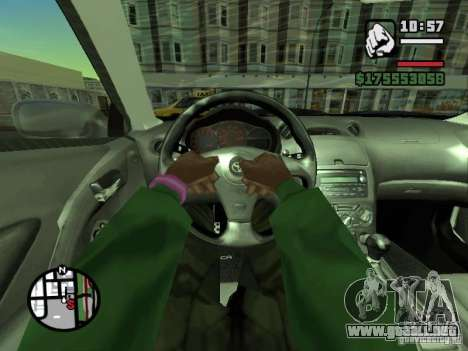 Primera persona (First-Person mod) para GTA San Andreas