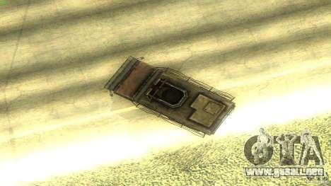 Frontline - MilBus para visión interna GTA San Andreas