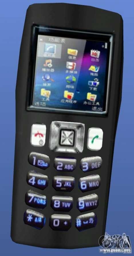 Teléfono móvil sin nombre-Handy para GTA 4