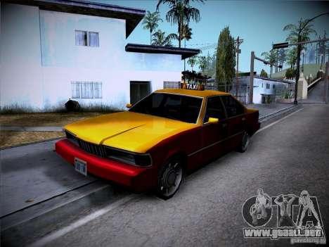 Sentinel Taxi para GTA San Andreas