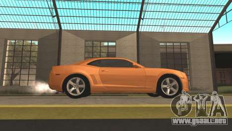 Chevrolet Camaro SS 2010 v2.0 Final para GTA San Andreas