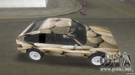 Blista rock stone stock para GTA Vice City vista lateral izquierdo
