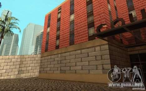 Nuevas texturas para el hospital en Los Santos para GTA San Andreas novena de pantalla
