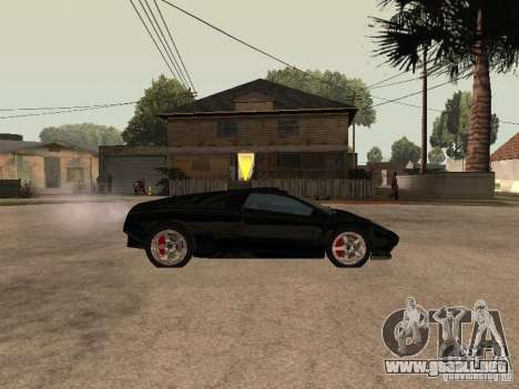 GTA4 Infernus para GTA San Andreas left