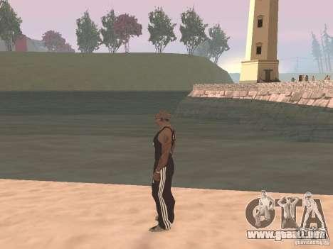 Elija cualquier clima para GTA San Andreas segunda pantalla