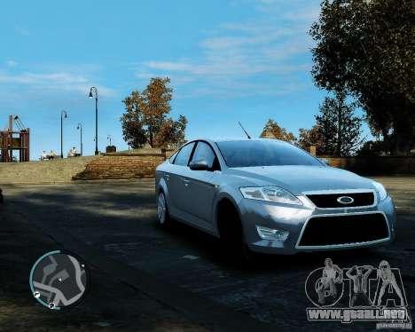 Ford Mondeo 2009 v1.0 para GTA 4 left