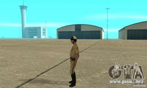 New uniform cops on bike para GTA San Andreas segunda pantalla