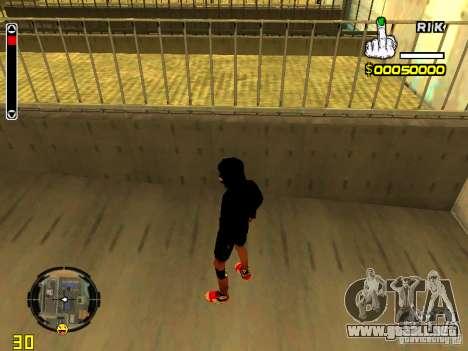 Piel vago v7 para GTA San Andreas tercera pantalla