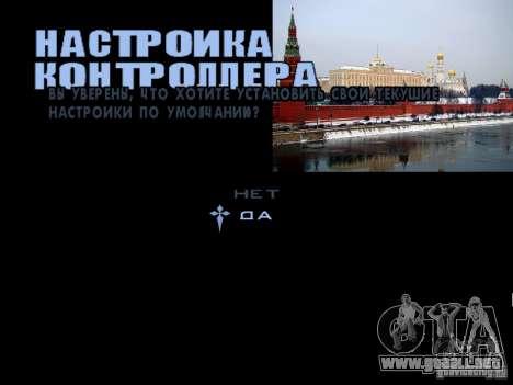 Pantalla de arranque de Moscú para GTA San Andreas quinta pantalla