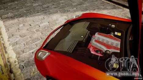 Ferrari 599 GTB para GTA 4 vista hacia atrás