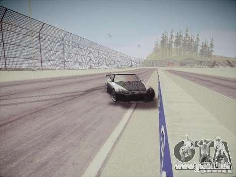 Honda S2000 JDM Dirft para visión interna GTA San Andreas