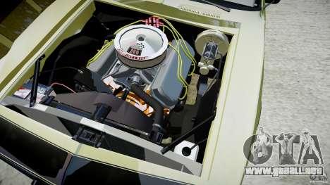 Chevrolet Camaro RS/SS 396 1968 para GTA 4 vista lateral