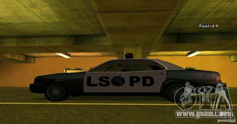 Merit Police Version 2 para GTA San Andreas left