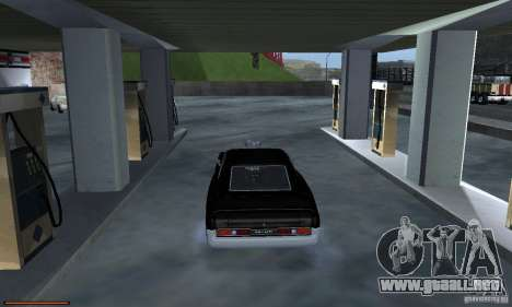 Gasolina único sensor para GTA San Andreas séptima pantalla