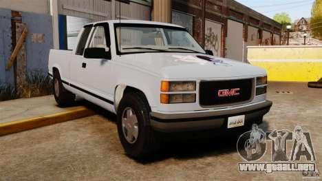 GMC Sierra 1994 para GTA 4