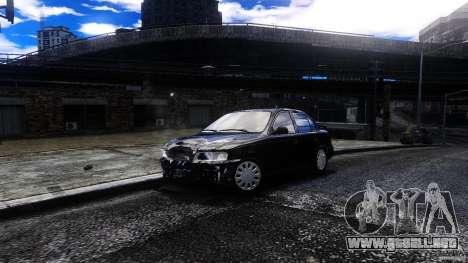 Toyota Corolla 1.6 para GTA 4 vista hacia atrás
